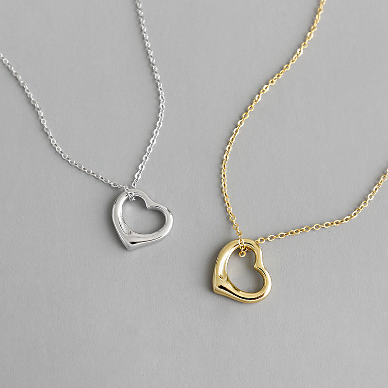 Heart Shaped Pendant Necklace Perf for Zoom - CleoBLVD