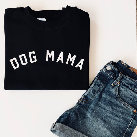 Dog Mama CrewBlack