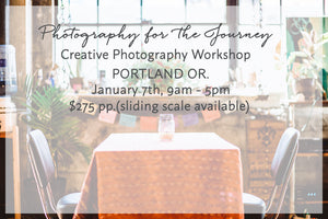 Photography For the Journey - Portland April 2017
