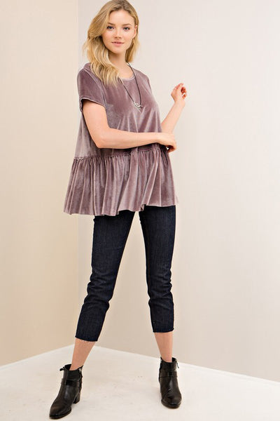 The Vivian Peplum Top