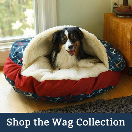 luxury dog beds wag collection