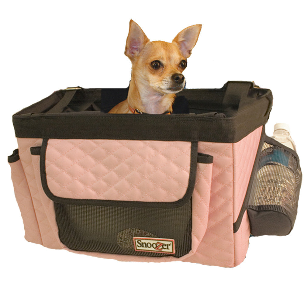 Snoozer Dog Bicycle Basket - Pink