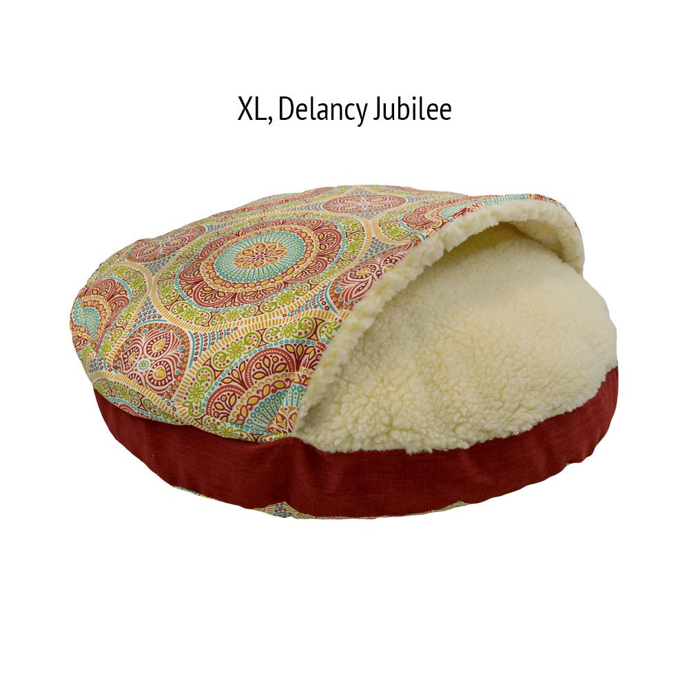 Snoozer Cozy Cave Dog Bed -  Delancy Jubilee