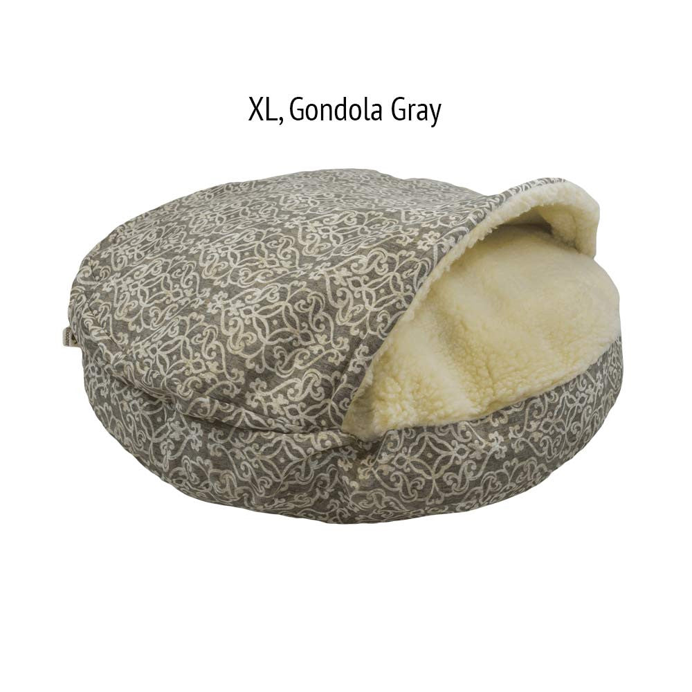 Snoozer Cozy Cave Dog Bed - Gondola Gray