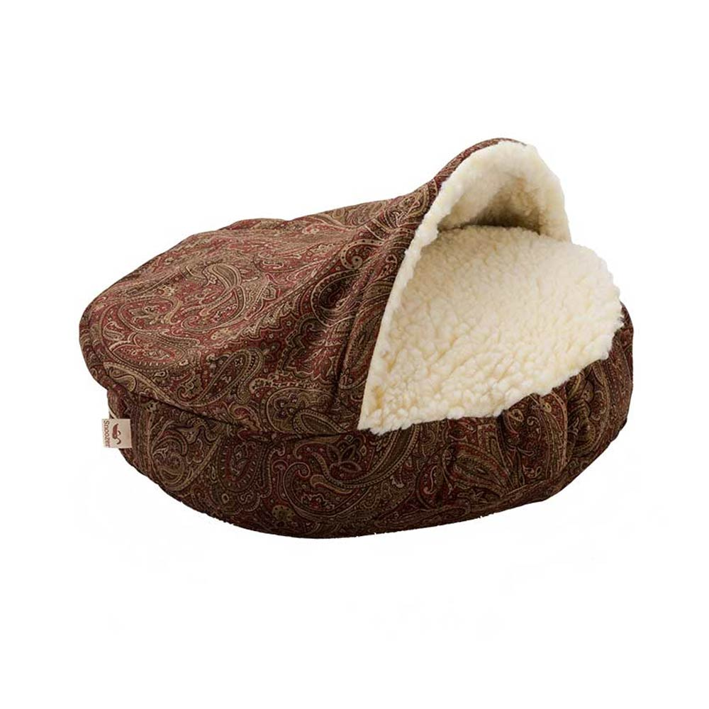 Snoozer Luxury Cozy Cave - Laurel Cayenne