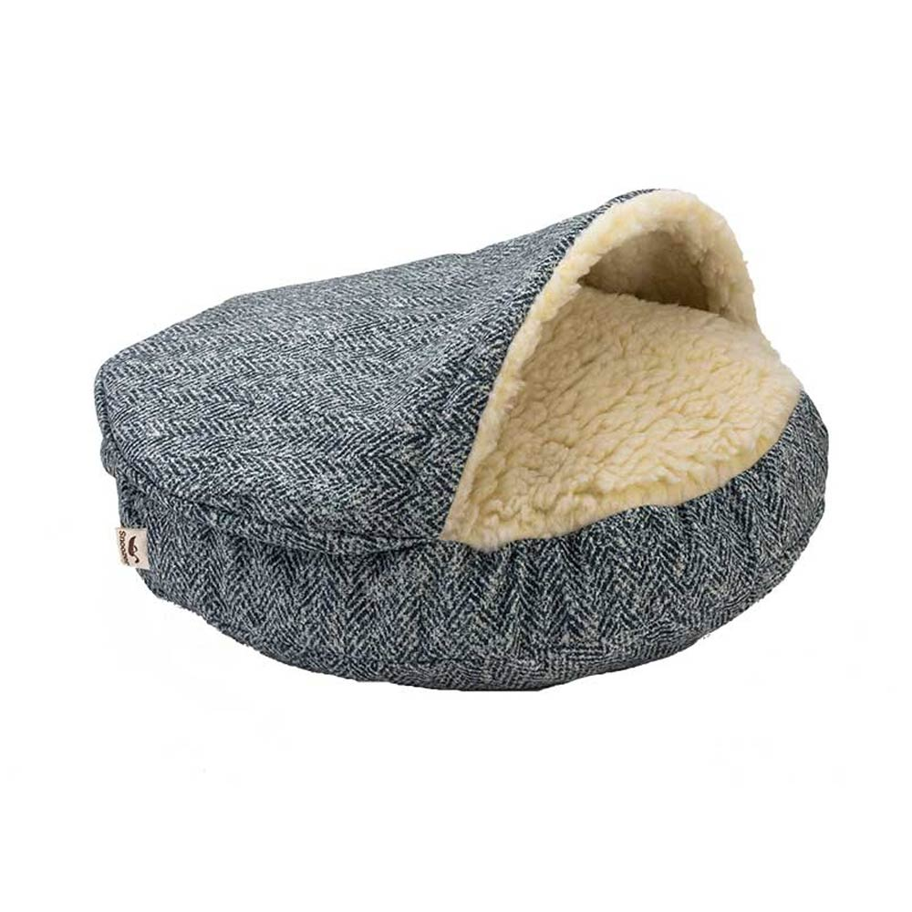 Snoozer Luxury Cozy Cave - Palmer Indigo