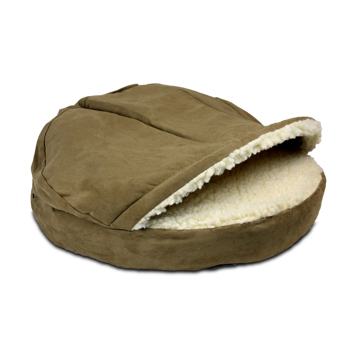 Snoozer Luxury Orthopedic Cozy Cave - Camel