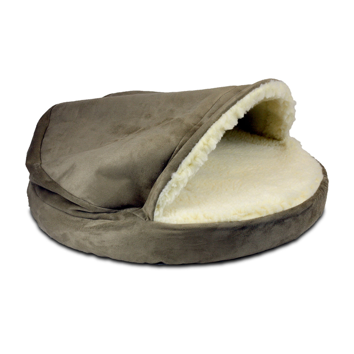 Snoozer Luxury Orthopedic Cozy Cave - Dark Chocolate