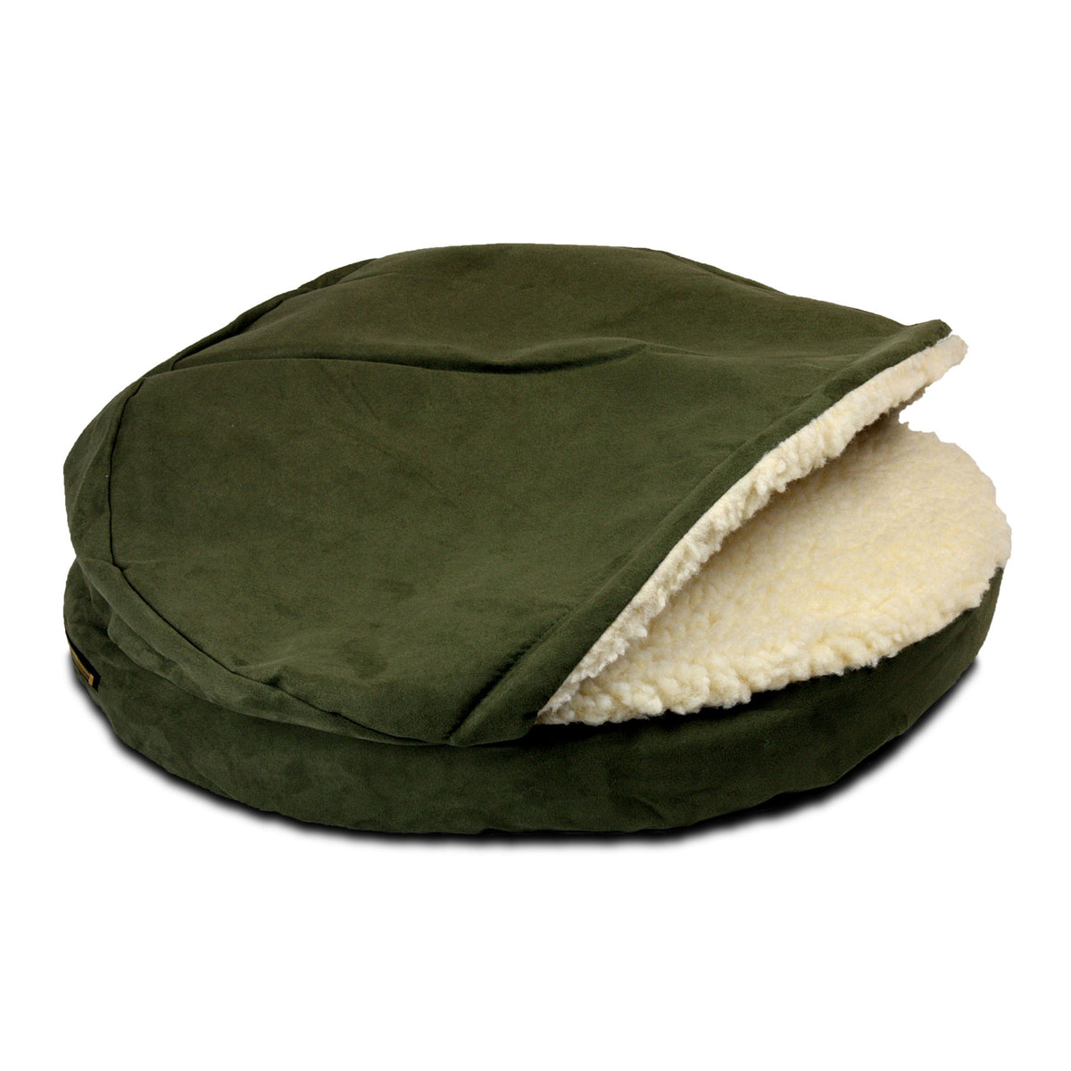 Snoozer Luxury Orthopedic Cozy Cave - Olive