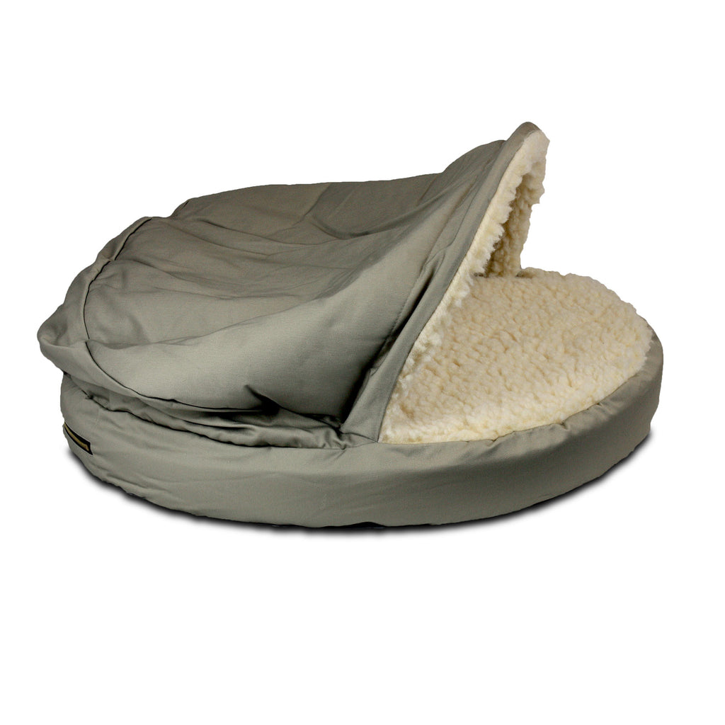 Snoozer Orthopedic Cozy Cave - Khaki