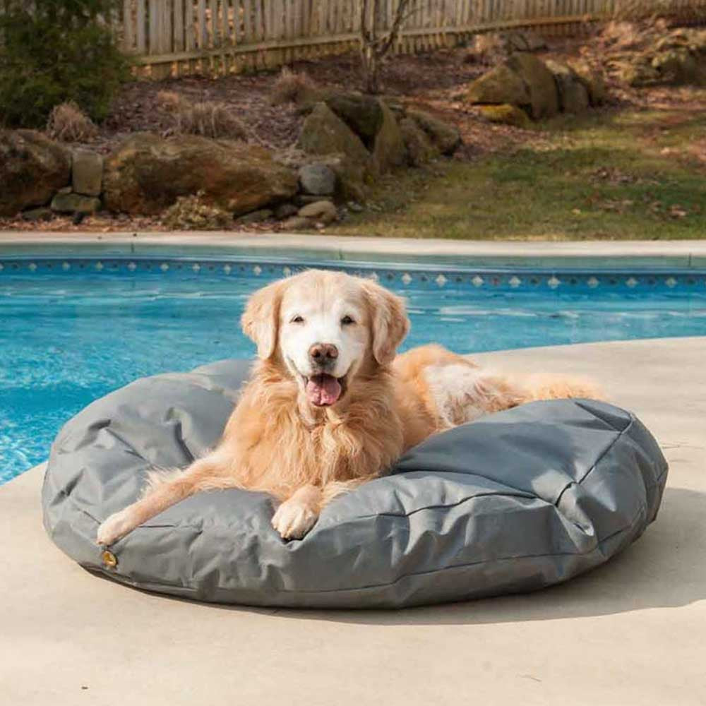 Snoozer Outdoor Waterproof Round Dog Bed