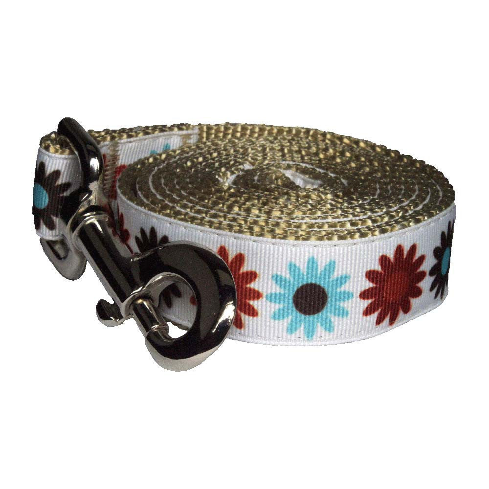 Paw Paws Dog Lead - Hula Flowers
