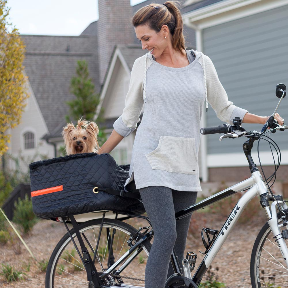 Dog Rider Lookout® - Rear Bicycle Basket