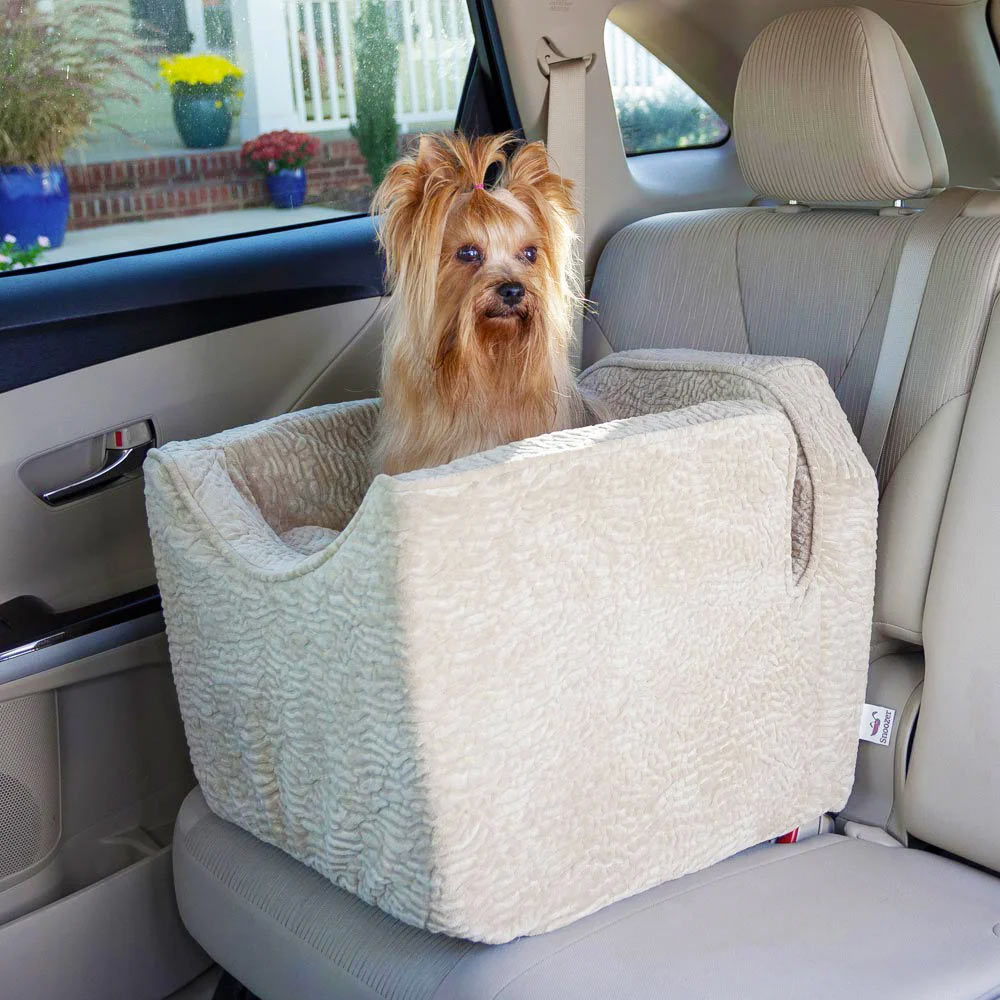 Snoozer Luxury Lookout I Dog Car Seat - Show Dog Collection