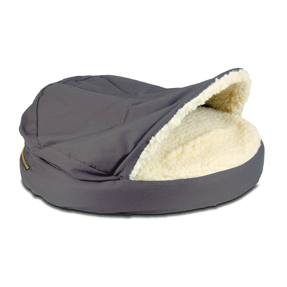 Snoozer Orthopaedic Cozy Cave Dog Bed - Heather Gray