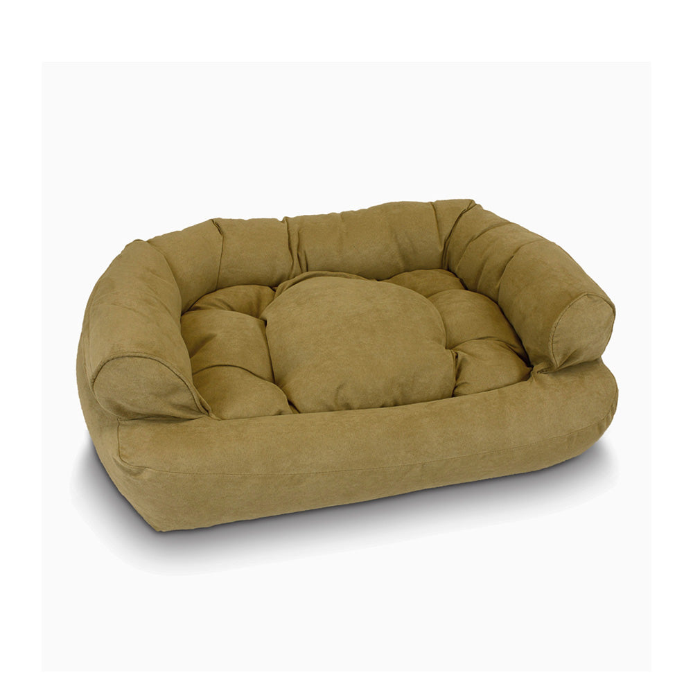 Snoozer Overstuffed Luxury Pet Sofa - Camel