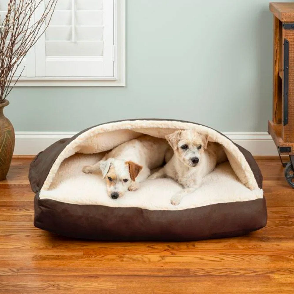 Snoozer Luxury Rectangle Cozy Cave Dog Bed