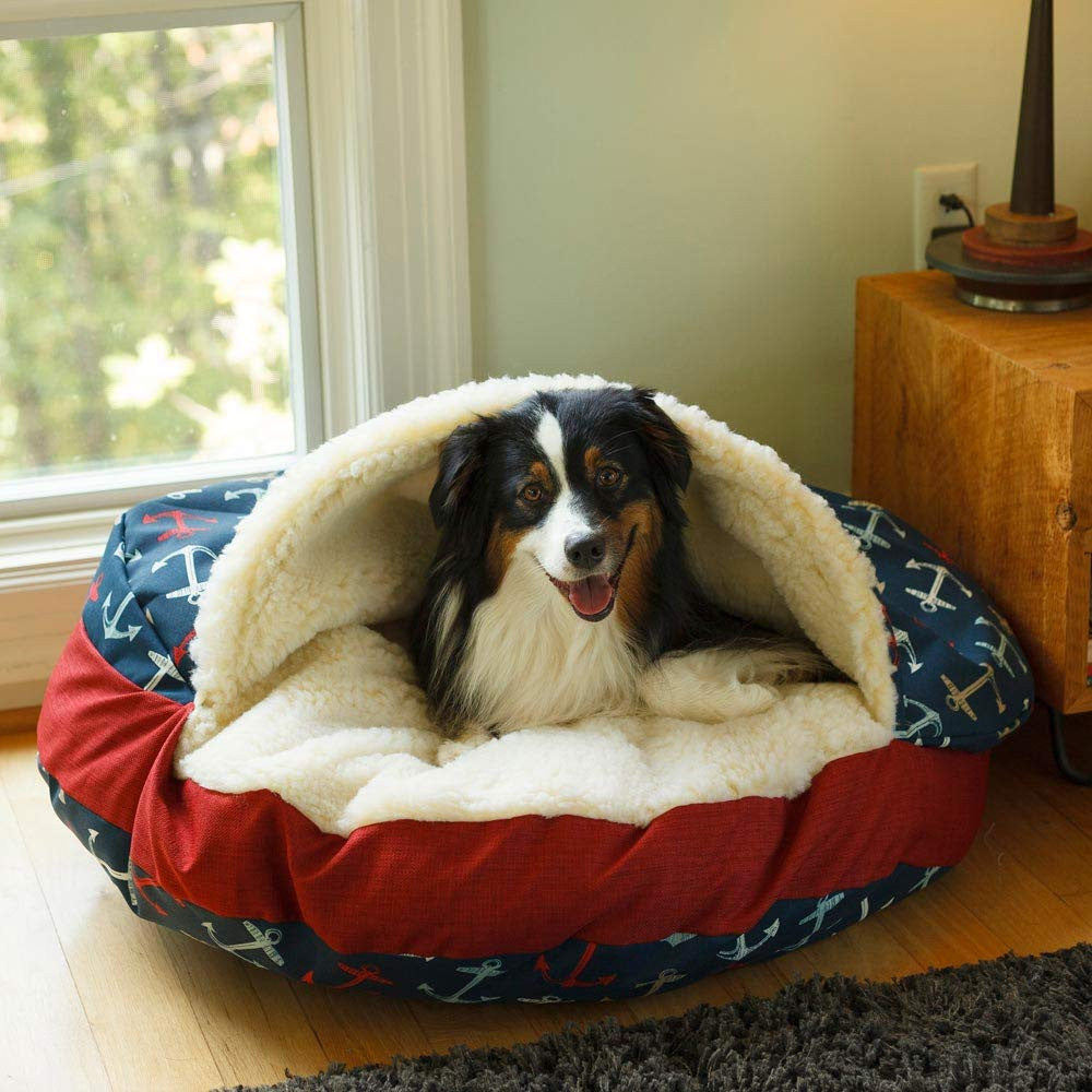 Snoozer Luxury Cozy Cave Dog Bed - Wag Collection