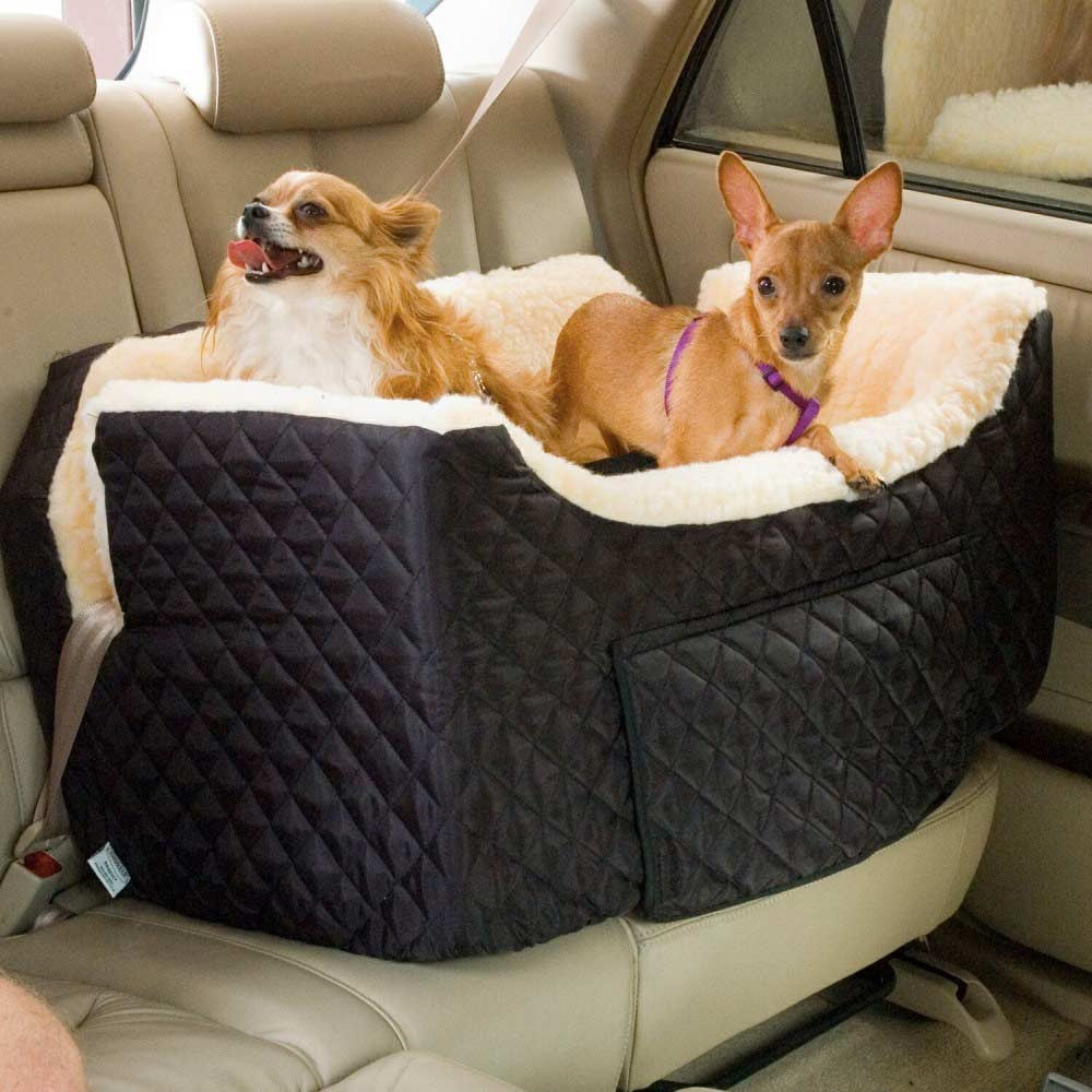 Snoozer Lookout II Dog Car Seat With Storage
