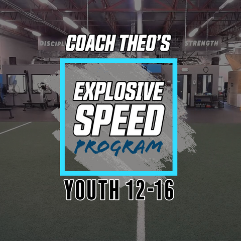 Youth Explosive Speed Session 1 [30 Min at-home beginner workout]