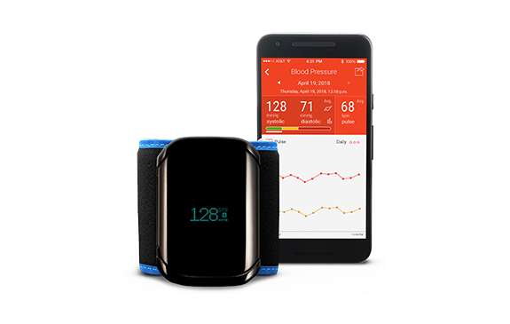 LifeSource ULTRACONNECT Premium Wireless Wrist Blood Pressure Monitor UB-1100BLE
