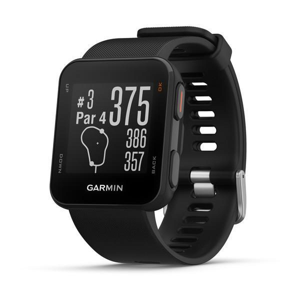 Garmin Golf Black Garmin Approach S10 Golf Watch