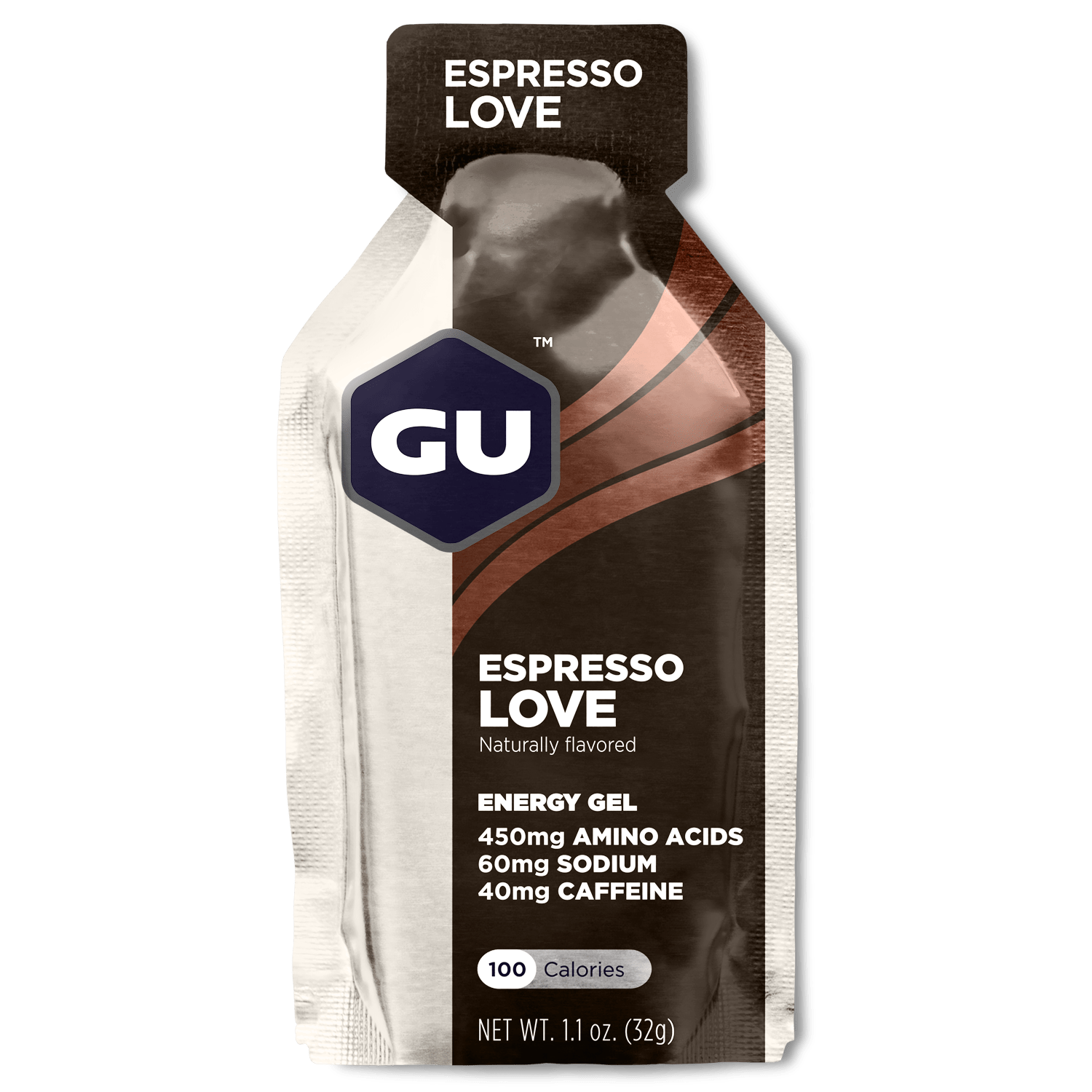 GU Sports Nutrition Espresso Love / 24 Count Box GU Original Sports Nutrition Energy Gel - Various Flavors