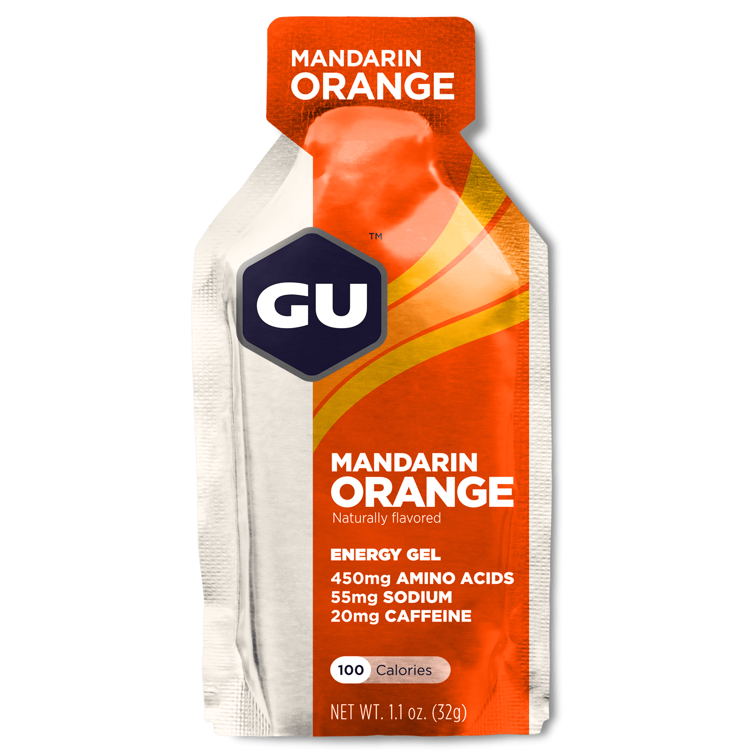 GU Sports Nutrition Mandarin Orange / Single Pack GU Original Sports Nutrition Energy Gel - Various Flavors