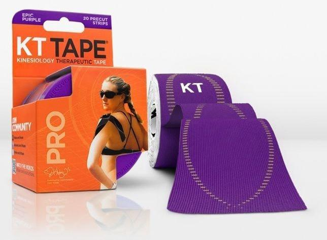 KT Tape Sports Therapy Epic Purple KT Tape Pro Synthetic (Pre-cut 20 strips)