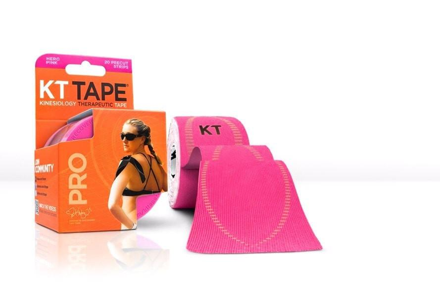 KT Tape Sports Therapy Hero Pink KT Tape Pro Synthetic (Pre-cut 20 strips)