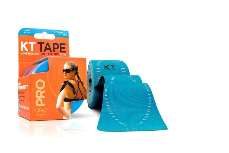 KT Tape Sports Therapy Laser Blue KT Tape Pro Synthetic (Pre-cut 20 strips)
