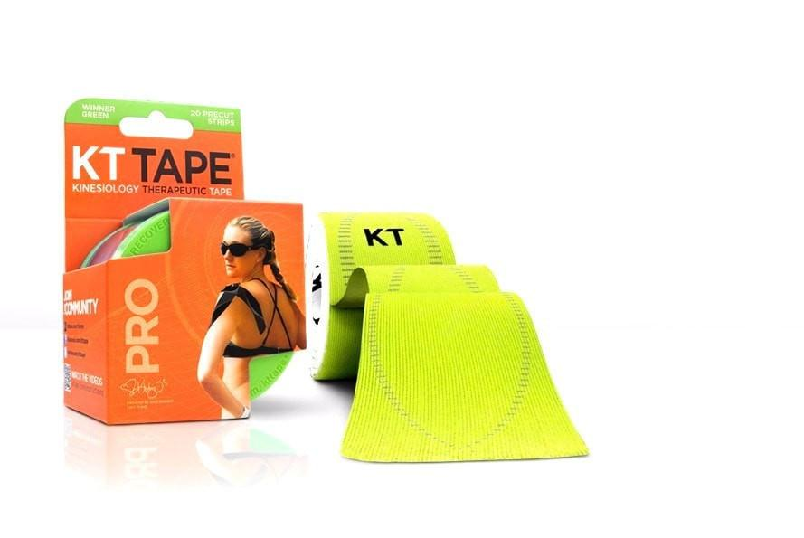 KT Tape Sports Therapy Winner Green KT Tape Pro Synthetic (Pre-cut 20 strips)