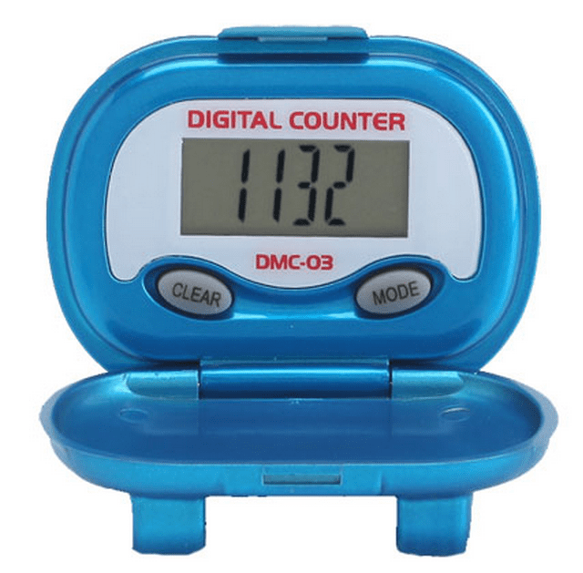 Shinwoo Pedometers Blue DMC03 Multi-Function Pedometer