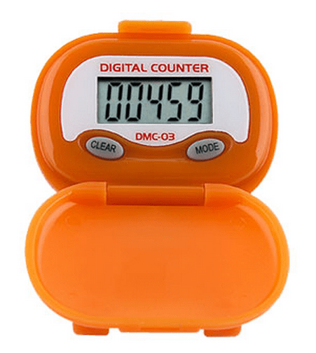Shinwoo Pedometers Orange DMC03 Multi-Function Pedometer
