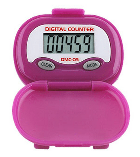 Shinwoo Pedometers Purple DMC03 Multi-Function Pedometer