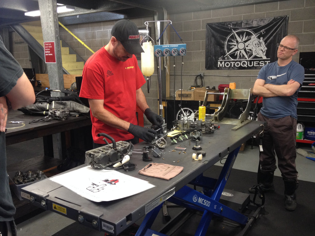 Carburetor and Fuel Injection Class