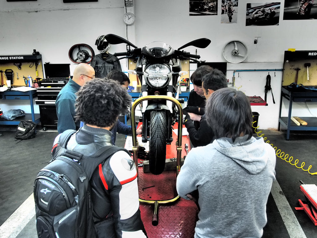 Workshop: Introduction to Motorcycle Maintenance