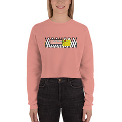 La Vie en Rose Crop Sweatshirt