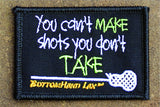 You Can't Make Shots You Don't Take
