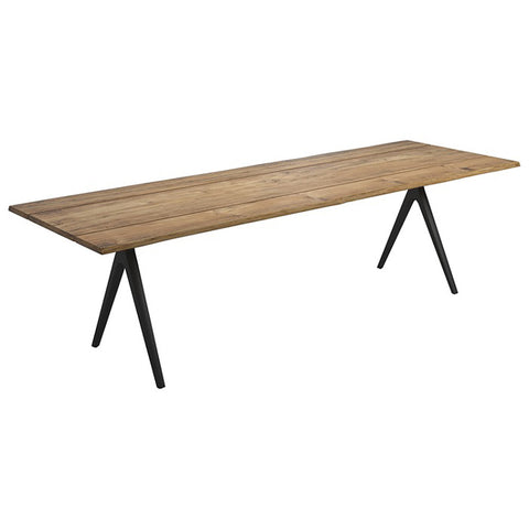 Gloster Raw Split Sapwood Edge Dining Table