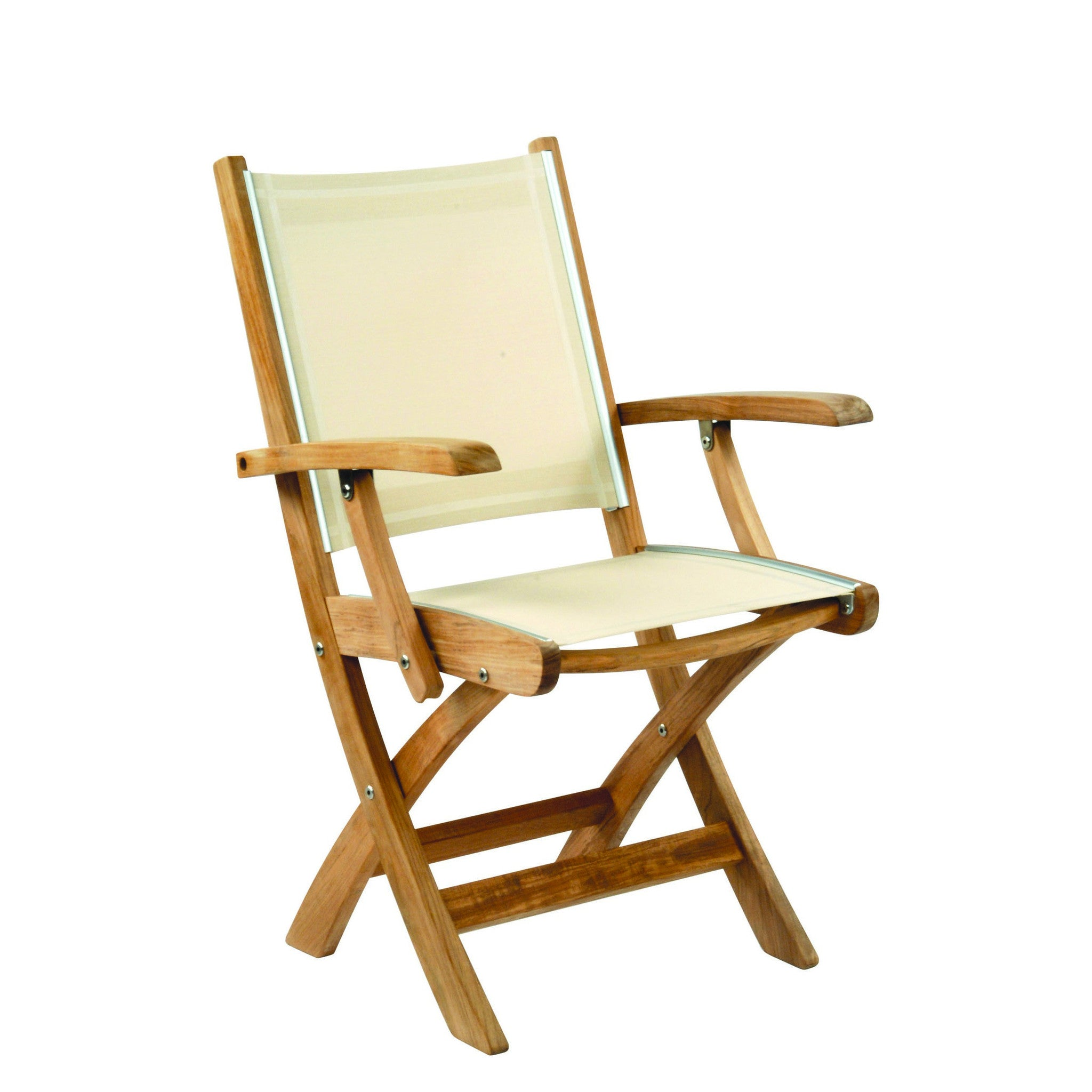 Kingsley Bate™ St Tropez Folding Arm Chair – Vineyard Decorators