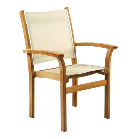 Kingsley-Bate™ St. Tropez Stacking Arm Chair