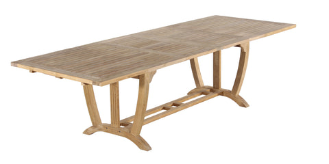 Cuttyhunk Rectangular Double Extension Dining Table
