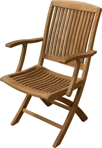 King's Point Folding Arm Chair