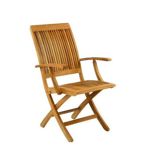 Kingsley-Bate™ Monterey Folding Arm Chair