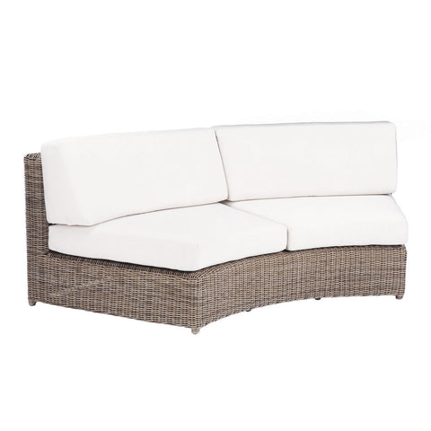 Kingsley-Bate™ Sag Harbor Sectional Curved Armless Sette