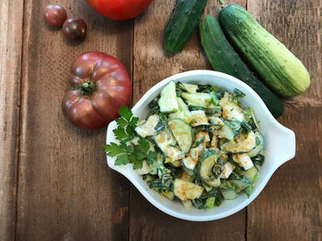 Cool Cumin Cucumber Salad