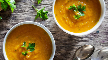 Easy Cumin and Carrot Soup