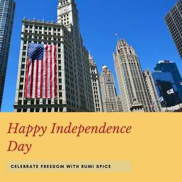 Happy Independence Day America, Celebrate with Rumi Spice
