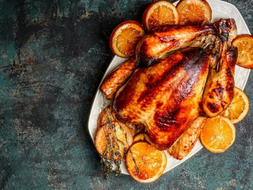 Roasted Berbere-spiced Turkey with Orange Aioli